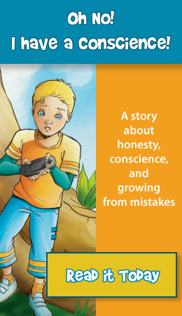 Childrens picture books that teach honest, conscience