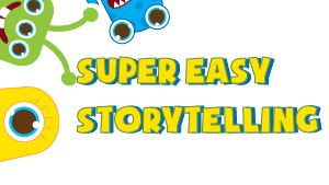 Super Easy Storytelling creative writing website for kids