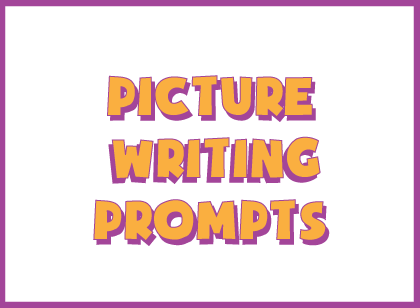 Picture based creative writing prompts for kids
